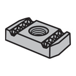 Channel Nuts N-800 Series Without Spring
