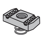 Channel Nuts N-810 Series Short Spring