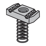 Channel Nuts N-830 Series Long Spring