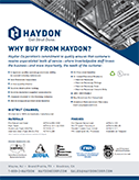 Haydon Why Buy Cover