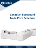 Canadian Baseboard Pricebook Cover
