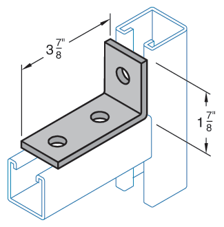 Three Hole Corner Connector