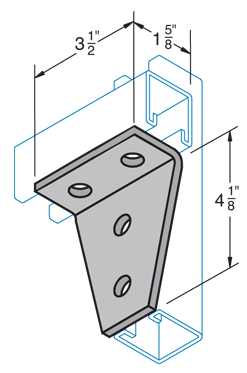 Four Hole Joint Connector Angle