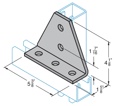 Five Hole Joint Connector Angle