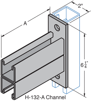 Double Channel Bracket