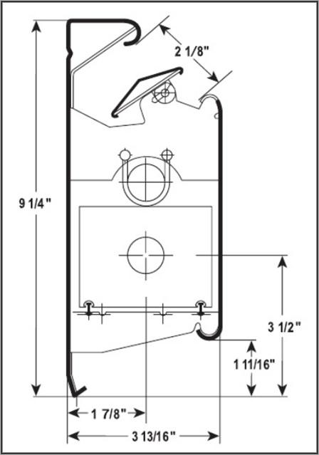 Hi Output 958 Baseboard Heater