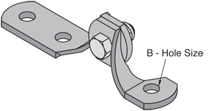 3 Hole Hinge Connector